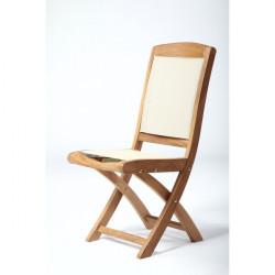 ARB Teak CHR5 Colorado Teak & Textiline Folding Chair