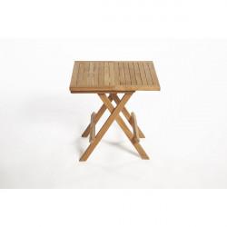 ARB Teak TAB Teak Folding Side Table