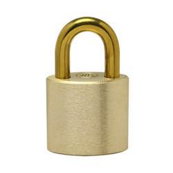 Ranger Lock RLBR-1 1'' Brass Shackle, Solid Brass Padlock