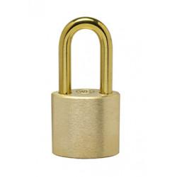 "Ranger Lock RLBR-2 2"" Brass Shackle Brass, Solid Brass Padlock"