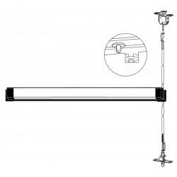 Adams Rite 3600, 8500 Series Metal Door Concealed Vertical Rod Exit Devices