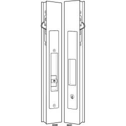 Adams Rite 4430 / 4431 Series Flush Locksets (Including Deadlock)
