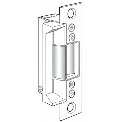 Adams Rite 7240 Fire-Rated Electric Strike for Hollow Metal Door Jambs, Stainless Steel