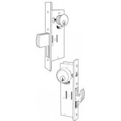 Adams Rite MS1850S Series MS Deadlock for a Single Leaf Narrow Stile Door