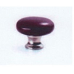 Cal Crystal Series 3 Classic Color Mushroom Knob with Ferrule