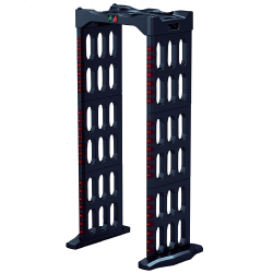 ZKAccess PD 300 Portable and Foldable Walk-through Metal Detector