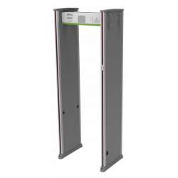 ZKAccess WMD318+ Walk-through Metal Detector with Body-Temperature Recognition