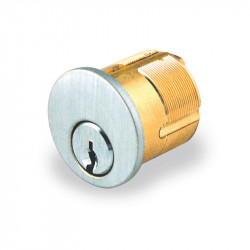 GMS Mortise Cylinder with AW - Arrow Keyway