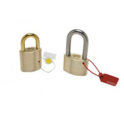 Wilson Bohannan M015 Indicative Padlock Charge on Brass or 304 SS Shackle