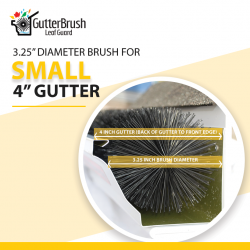 Gutter Brush Leaf Guard