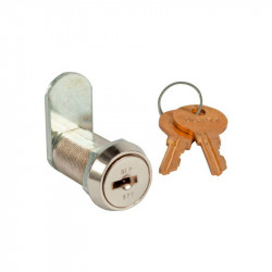 Zephyr 10823-500 Cam Lock, Replacement Core with 2 Keys