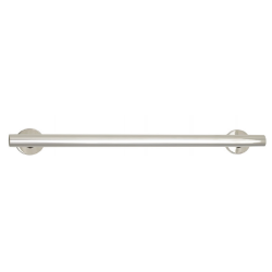 """Seachrome GSSO Series Oval Grab Bar - Coronado Style, 1-1/2"""" O.D., Concealed Flanges"""