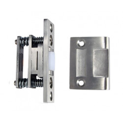 """ABH Hardware 1890 Roller Latch, 1/2"""" Max. Projection"""