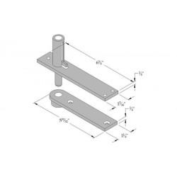 ABH Hardware 0345 Pivot (Non-Handed)