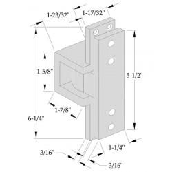 ABH Hardware 0519 Pocket Pivot