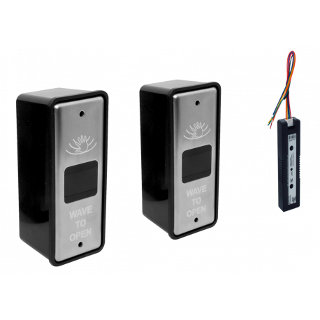 RCI 912-WBT Battery Power, Touch-Free Actuator (Narrow)