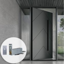 Jako JK06 Soft Close Concealed Hydraulic Pivot for Swinging Doors