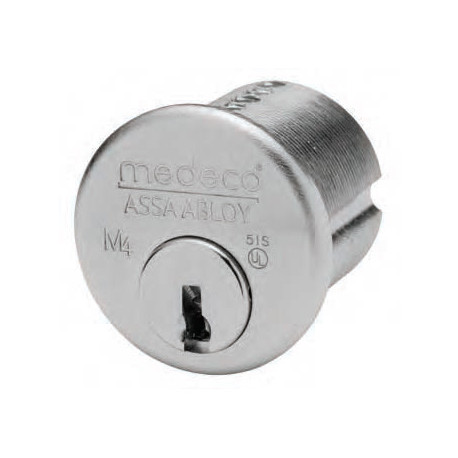 """Medeco 101350 6 Pin Jumbo Mortise Cylinder (1-19/64"""" Long, 1-3/8"""" Shell Dia.) Corbin Russwin Master Ring Cylinder Replacement"""