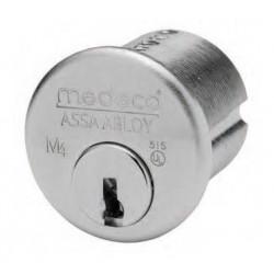 "Medeco 104001 6 Pin 1-1/4"" Mogul Cylinder for Prison Locks (1-1/4"" Long, 2"" Shell Dia.)"