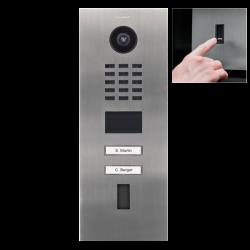 DoorBird D2102FV EKEY IP Video Door Station, 2 Call Buttons