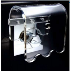 Steam Sauna Ranger Steam Shield (Steam Head not included) 8mm Thickness Strong Transparent Polycarbonate