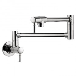 Hansgrohe 4218000 Talis C Pot Filler, Wall-Mounted
