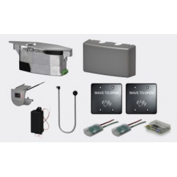LCN 6440-3813W Compact Series Module & Touchless, Line-Powered, RF Actuator Kit