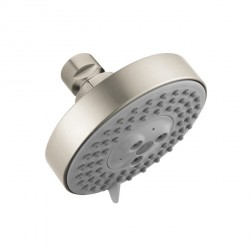 Hansgrohe 4340820 Raindance S 100 AIR Green 3-Jet Showerhead, 2.0 GPM