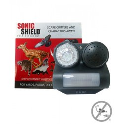 Bird B Gone Sonic Shield Pest Repellent with Guard Dog Sound