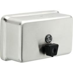 Delta 44081 Stainless Steel Horizontal Liquid Soap Dispenser in Chrome