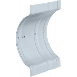 Delta RP71072 Recessed Wall Clamp Zinc Plated in Chrome