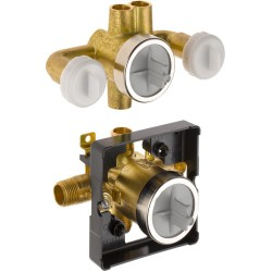 Delta R18000-XOWS Jetted Shower™ Rough-In Valve with extra Outlet (6-Setting) Collections