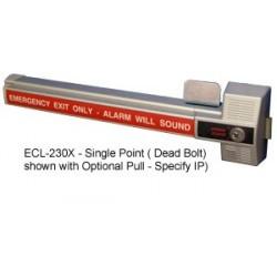 Detex ECL-230X Alarmed Dead Bolt Panic Hardware Single Point Lock