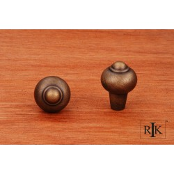 RKI CK 9306 Solid Round Knob with Tip