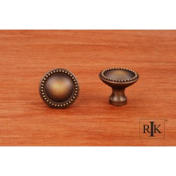 RKI CK 9310 Plain Knob with Beaded Edge