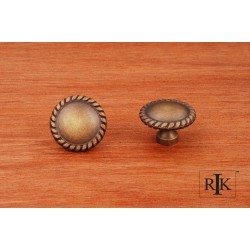 RKI CK 9313 Plain Knob with Rope @ Edge