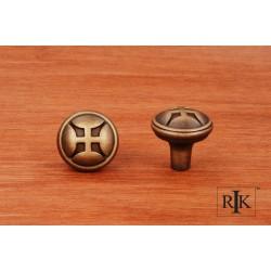 RKI CK 9314 Solid Four Petal Knob