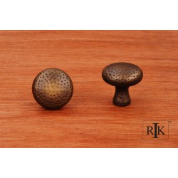 RKI CK 9315 Solid Round Knob with Divet Indents