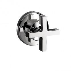 Axor 39967001 Citterio Volume Control Trim with Cross Handle