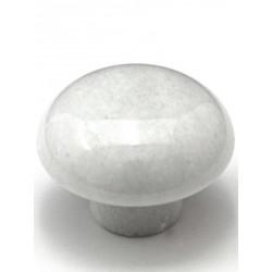Cal Crystal M-1 Mushroom Marble Cabinet Knob