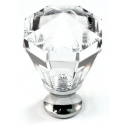 Cal Crystal M13/27 Crystal Octagon Knob