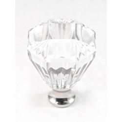 Cal Crystal M991 Crystal Octagonal Knob