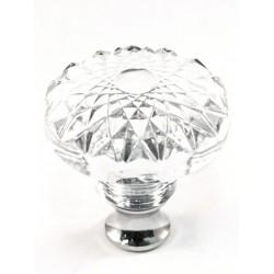 Cal Crystal M993 Crystal Round Knob