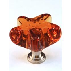 Cal Crystal ARTX-S4A Glass Starfish Cabinet Knob