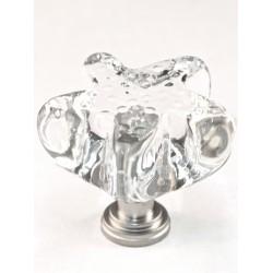 Cal Crystal ARTX-S4C Glass Starfish Cabinet Knob