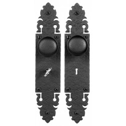 Acorn WU Skeleton Key Iron Mortise Set