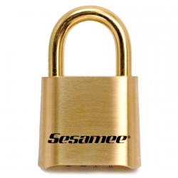 CCL K0436 Sesamee Resettable Combination Padlock with Brass Shackle