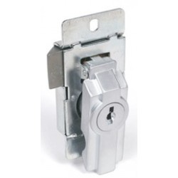 CCL Sesamee 15767 Enclosure Lock, Handling- Left Hand, Dull Chrome