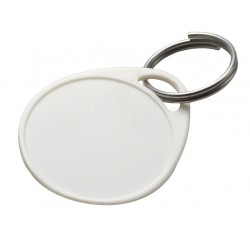 251 Lucky Line Round Label-It Plastic Tags White