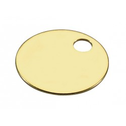260 Lucky Line Solid Brass Tags